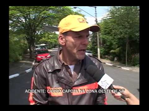 ACIDENTE DE CARRO BUTANTÃ