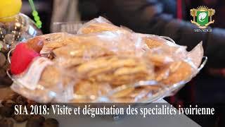 SIA 2018: Visite et dégustation des spécialités ivoiriennes