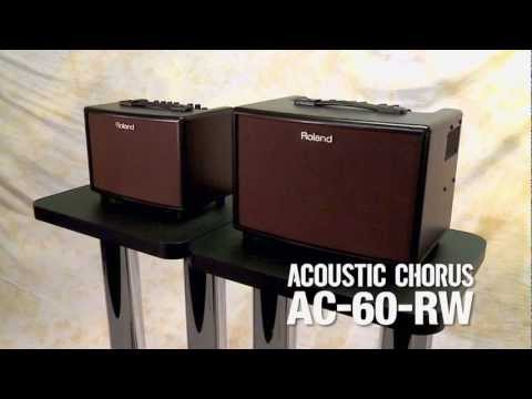 Roland AC-60 RW Acoustic Chorus Amplifier for Guitar in Rosewood