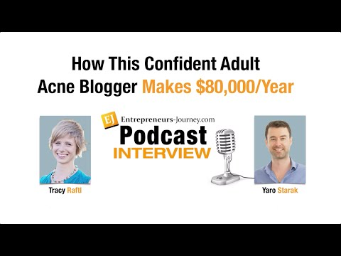 Tracy Raftl: How This Confident Adult Acne Blogger Makes $80,000 Year Video