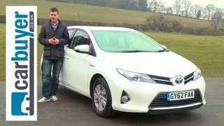 Toyota Auris 2013 inceleme - CarBuyer