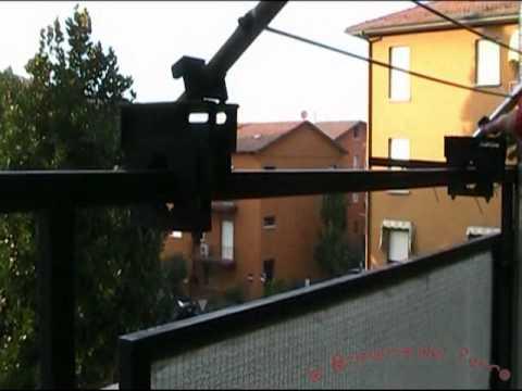 Stendibiancheria stendino braccio d 39 acciaio modello - Stendibiancheria esterno ...