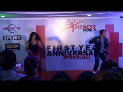 R&B Fitness World 1st Anni Party - Anh Không Đòi Quà (Dance Cover)