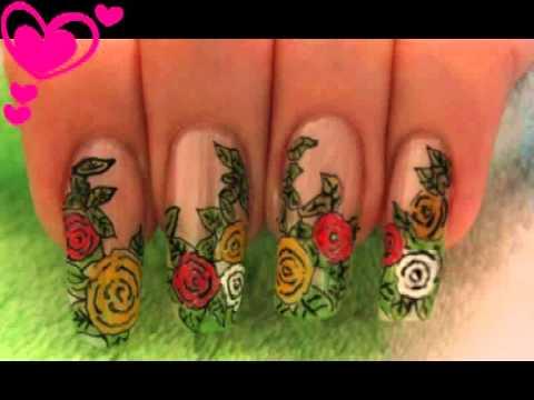 Nail design - Rose Garden 19!