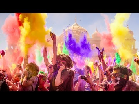 World's biggest color party