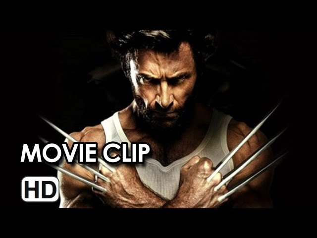 The Wolverine Movie CLIP - Gets Angry (2013) - Hugh Jackman Movie HD