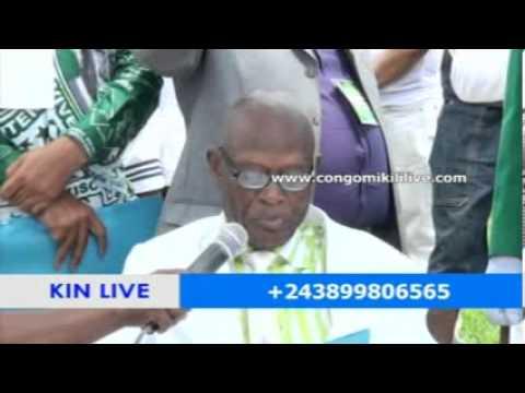 100TENAIRE DE PAPA KISOLOKELE 1er FILS DE KIMBANGU LES FIDÈLES KIMBANGUISTE VEUX LA RÉCONCILIATION