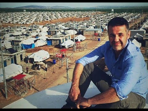 Khaled Hosseini Meets Inspiring Young Syrian Refugees