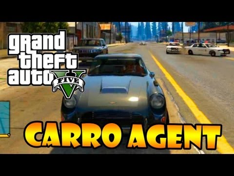 GTA V: EASTER EGG CARRO AGENT - CARRO DO JAMES BOND - CARRO DE AGENTE SECRETO