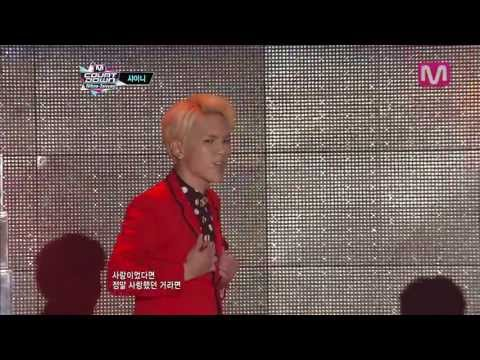 샤이니_루시퍼(Lucifer by SHINee@M COUNTDOWN Nihao-Taiwan 2013.4.25)