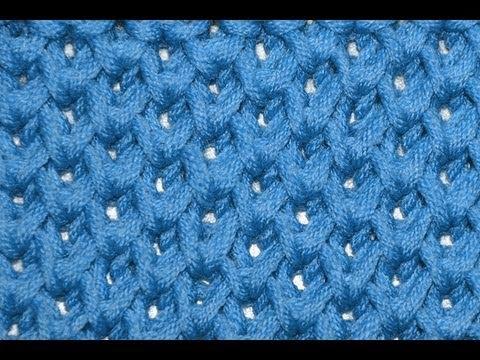 How to Knit * Honeycomb Brioche Stitch * Knitting Stitches