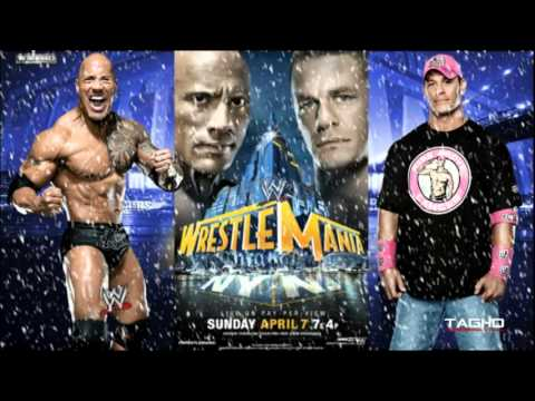 2013: WWE Wrestlemania XXIX Cena Vs Rock II Promo Theme Song