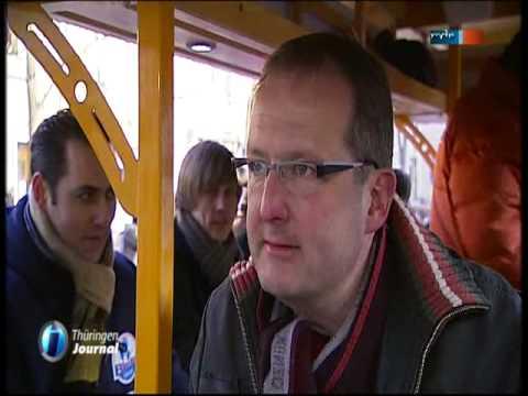 Beispiel: Neue Attraktion in Erfurt, Video: BierBike Erfurt.