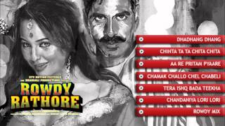 Rowdy Rathore Audio JukeBox