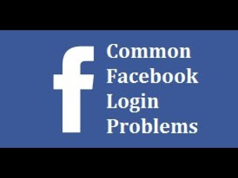 Common Facebook Login Problems