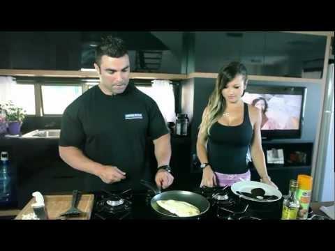 Alice Matos e Eduardo Correa - Omelete de claras by CHEF CORREA