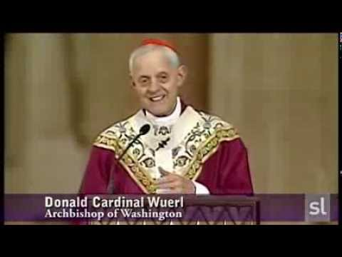 Homily of Cardinal Wuerl on first anniversary of election of Pope Francis