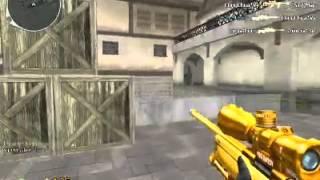 CF Pro Sniper Gold