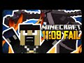 Minecraft: ULTIMATE SPEEDRUN FAILURE! - Must See!