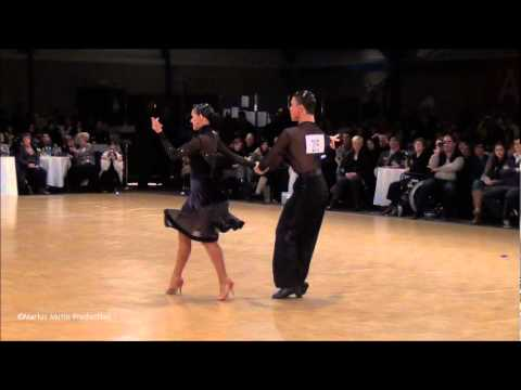 12th Antwerp Stars Cup - GrandSlam Latin - solo Chacha - Andrey Gusev &amp; Elizaveta Cherevichnaya
