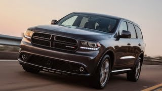 2014 HEMI Dodge Durango R/T First Drive 0-60 MPH Review