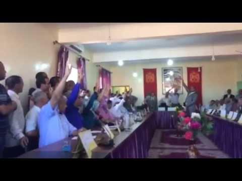 فيديو للحظة انتخاب جردان رئيسا لفركلة العليا