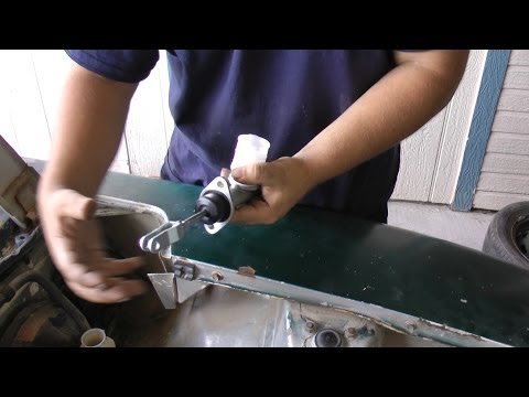 How To Change Your Clutch Master Cylinder