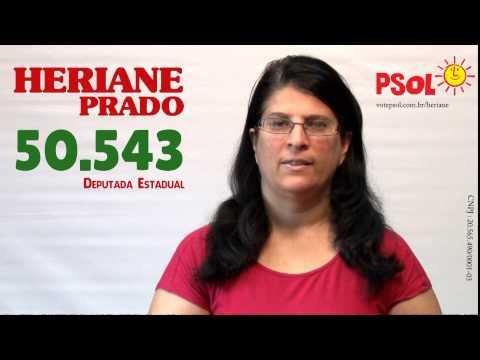 [Heriane Prado dep. estadual - 50543 com Eneida dep. federal - 5009 ]
