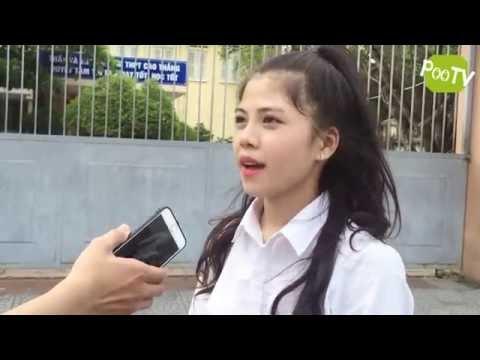 Phỏng vấn thí sinh thi đại học tại Huế