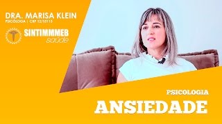 TVSINTIMMMEBSAúDE | DRA. MARISA KLEIN | ANSIEDADE | TAG