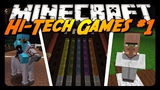 Minecraft: HI-TECH GAMES! - Pt. 1 w/ CavemanFilms!