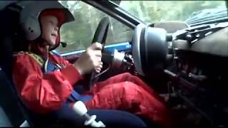 8-Year-Old Rally Car Driver Is Better Than Most Adults