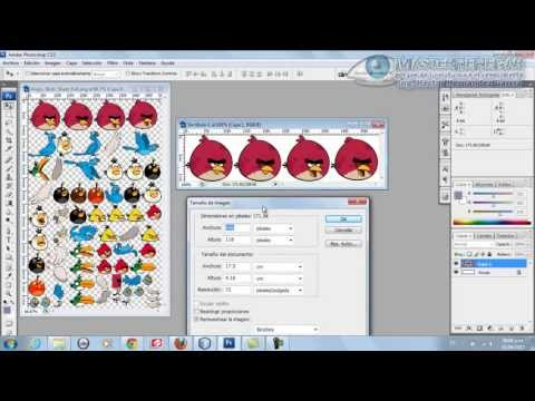 34 - TAP - Cómo Editar una Imagen en Photoshop para utilizarla como Sprite(J2ME)