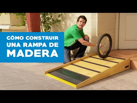 C mo construir una rampa de madera youtube for Sillas para guaguas