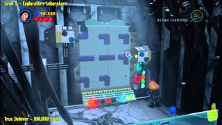 Lego Marvel Super Heroes: Level 3 Exploratory Laboratory