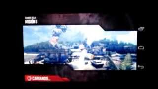 Motorola Moto G Juegos: Modern Combat 4 (MC4) Test HD