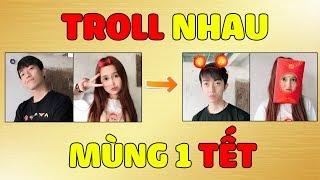 CrisDevilGamer và Mai Quỳnh Anh TROLL NHAU MÙNG 1 TẾT