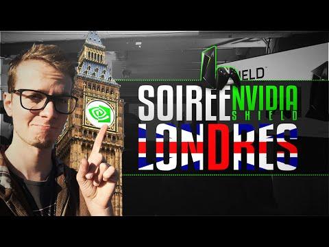 IRL - À Londres pour la soirée de lancement Nvidia Shield