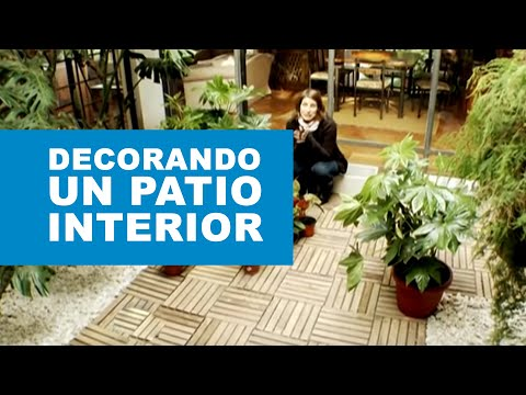 C mo decorar un patio interior youtube - Como decorar un patio exterior ...