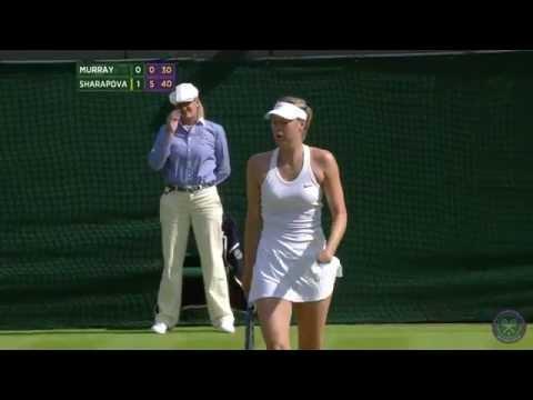 Day 2: Sharapova v Murray 1R Highlights - Wimbledon 2014