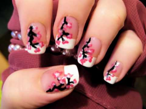Cherry Blossom Nails,