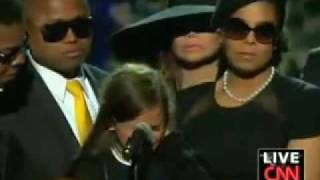 Córka Michaela Jacksona w Staples Center