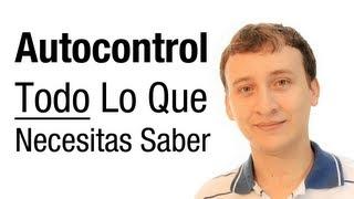 El autocontrol