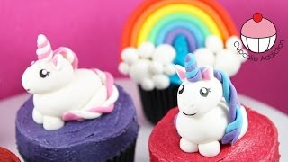 Unicorn Cupcakes! Make Unicorns & Rainbows for Cakes & Cupcakes -A Cupcake Addiction How To Tutorial
