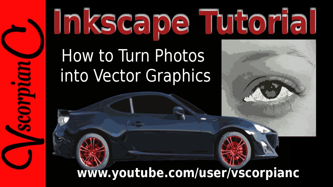 Inkscape Tutorial How to Convert Image to Vector Graphics (Trace ...
