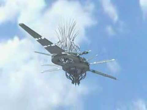 Drone in México (CG ufo)