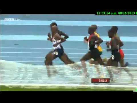 Mo Farah 5000 m Final men, Moscow 2013