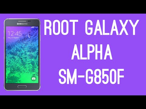 ROOT SAMSUNG GALAXY ALPHA SM-G850F [ROOT TUTORIAL]