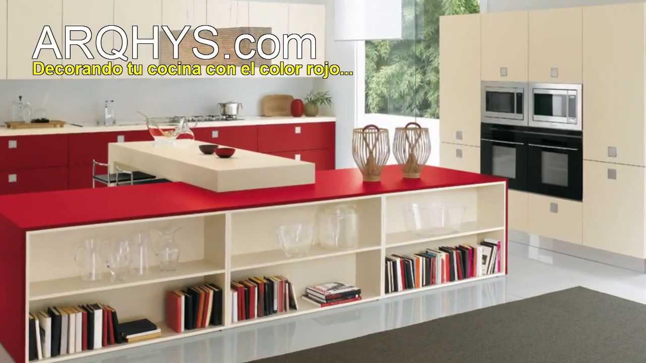 El color ideal para decorar y poner bonita tu cocina youtube for Ideas para decorar pared cocina