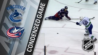 01/12/18 Condensed Game: Canucks @ Blue Jackets